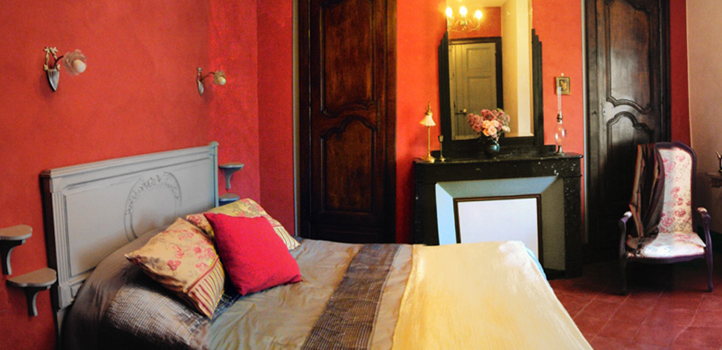 Chambre Artemisia Gentileschi vue panoramique
