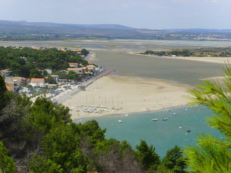 Narbonne-plage et les environs
